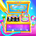 Makeup Kit Cake Maker - Glitter Baking Games