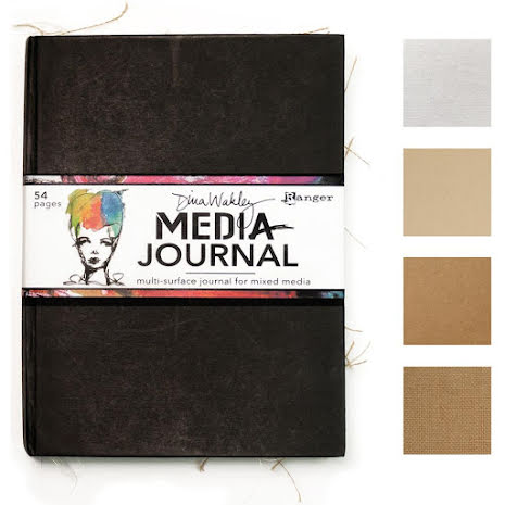 Dina Wakley Media Journal 8X10