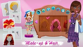 Screenshot of Shopaholic World: Dress Up