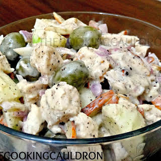 Mayonnaise Dressing Chicken Salad Recipes.