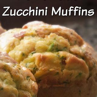 Sugar Free Homemade Zucchini Muffins.
