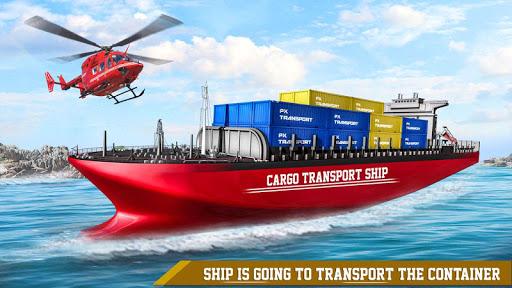Transport Ship Euro Truck Cargo Transport Games modavailable screenshots 3