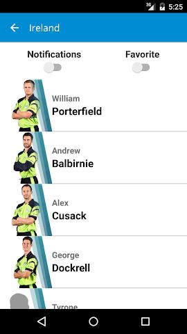 Screenshot 2 ICC World T20 Qualifier 2015