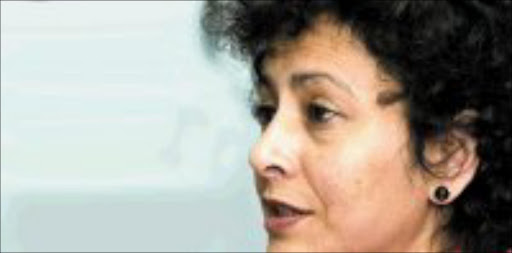 FIRM STAND: Irene Khan, Amnesty's secretary-general. 31/07/07. © Unknown.