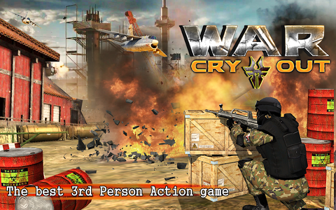 WAR CRY OUT: BATTLE WORLD SHOOTER screenshot