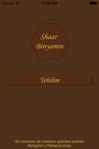 Shaar Binyamin- screenshot