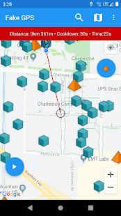Fake GPS Joystick & Routes Go Mod