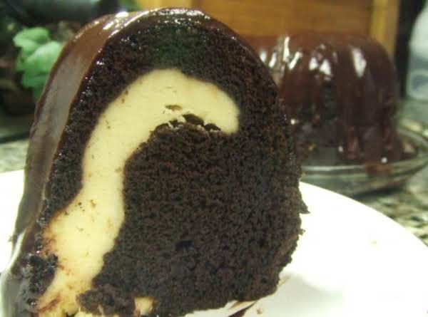 Rich Fudge Ribbon Bundt Cake Recipe