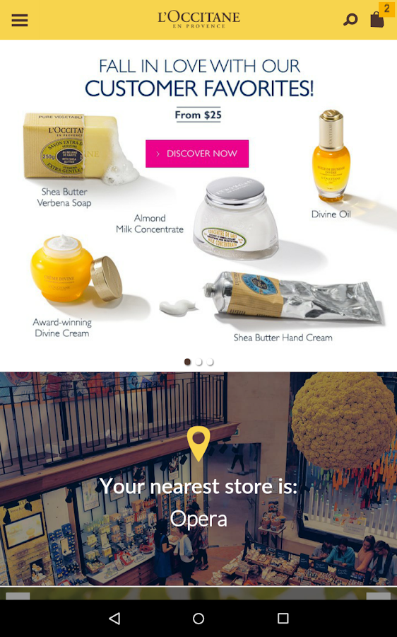 L'OCCITANE en Provence- screenshot