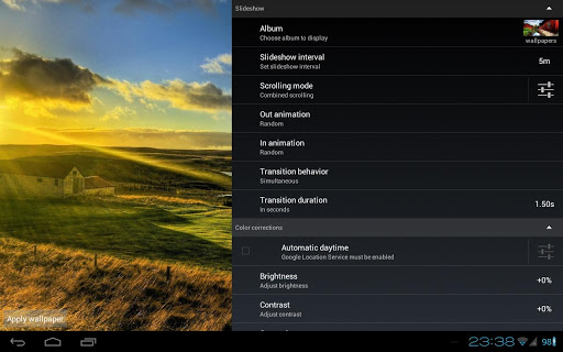 ... Slideshow HD Live Wallpaper screenshot 13 ...