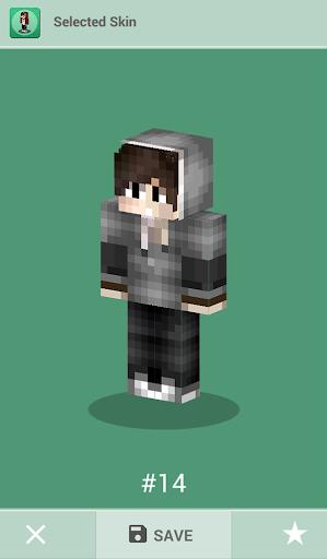 Skins for Minecraft PE 1.4 screenshots 7