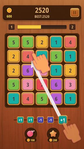 Mergezilla - Number Puzzle apkmartins screenshots 1
