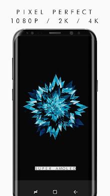 True BLACK AMOLED 4K PRO Wallpapers (2960x1440) screenshot 2