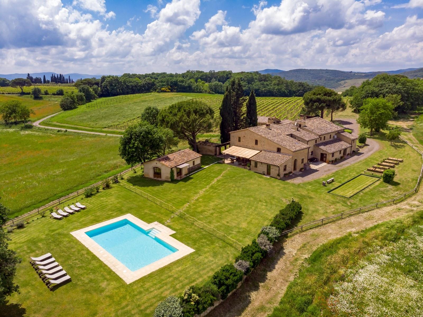 Villa Ombrone_Buonconvento_2