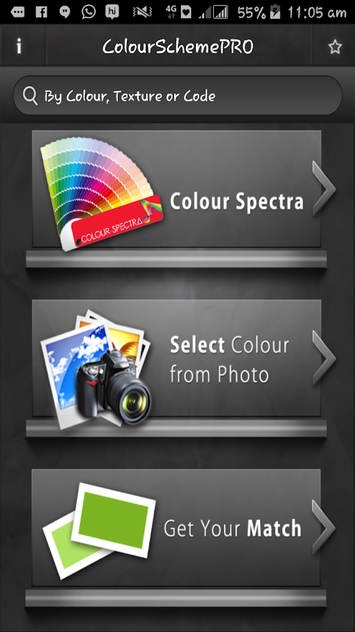 Colour Scheme Pro- screenshot
