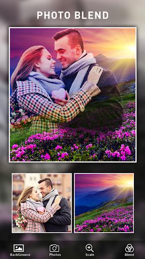 Photo Blend cam: Auto photo mixer blender merger 1.4 screenshots 8
