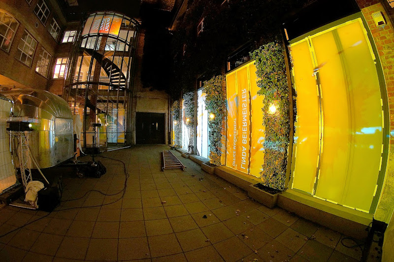 Photo: Fensterprojektion und Turmprojektion