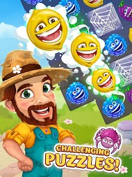 Funny Farm match 3 game APK screenshot thumbnail 19