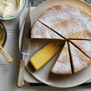 Shannon Bennett's no-fail almond and orange cake.