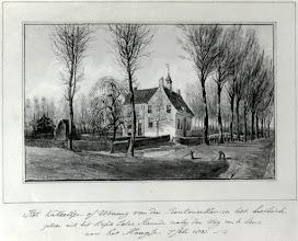 Photo: 1831 kasteelwoning van rentmeester in het Liesbos