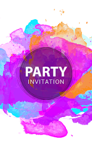 Party invitation cards android apps on google play party invitation cards screenshot thumbnail bookmarktalkfo Image collections