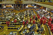 FILE PICTURE: Parliament during the State of the Nation Address.