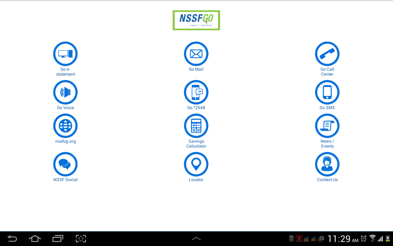 NSSF GO- screenshot