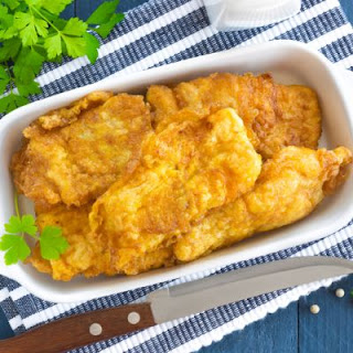 Oven-Fried Fish Filets