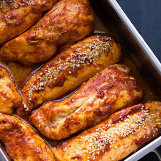 Roasted Harissa Chicken Breasts