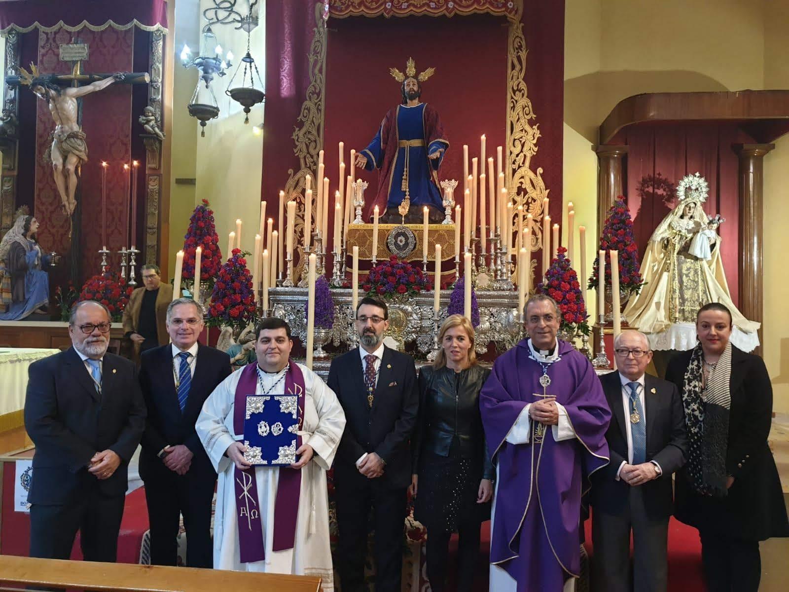 El equipo de Gobierno participa en la Función Principal de la Cofradía de la Oración del Huerto