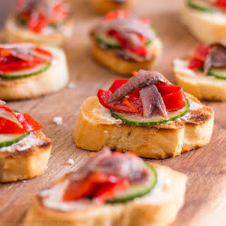 Anchovy Hors d' Oeuvres.