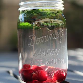 Cherry Basil Iced tea.
