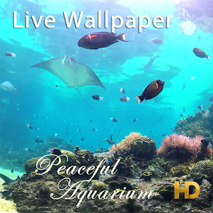 Peaceful Aquarium LWP download