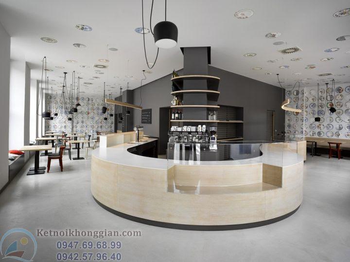 thiết kế cửa hàng bánh ngọt độc đáo