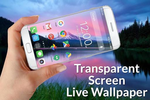 Transparent Screen Live Wallpaper 1.3 screenshots 1