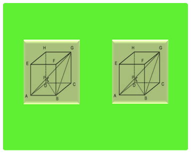 Three Dimensions Distance of Cube  Points Points - náhled