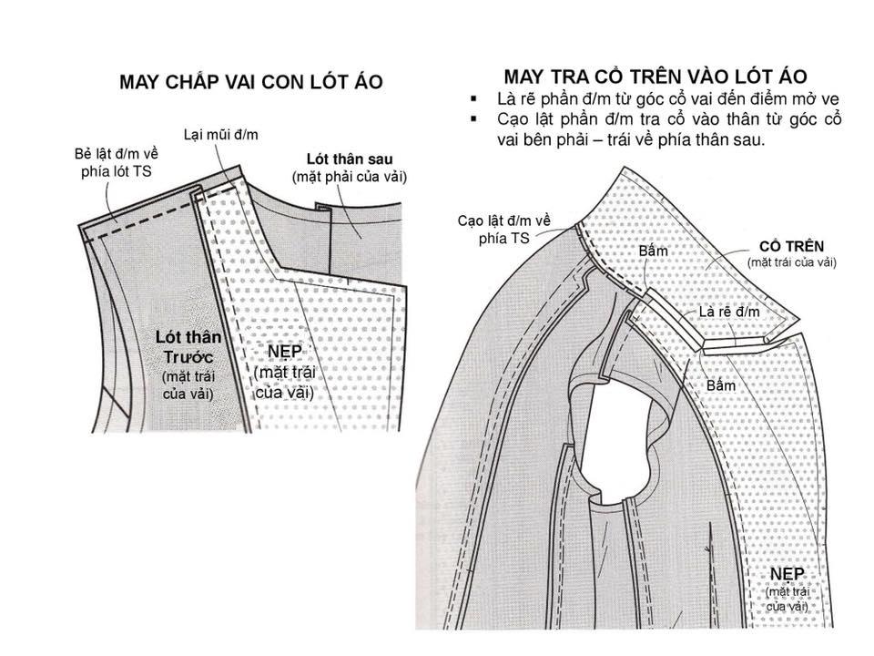 Bảng Size Thông Số Chuẩn Áo VEST NAM-NỮ Và Hướng Dẫn Cách Ráp Áo VEST 17