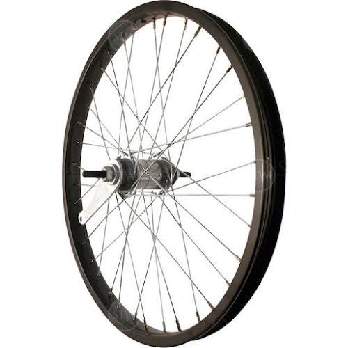 "Sta-Tru 20"" Steel Rear Wheel with Coaster Brake - Black"