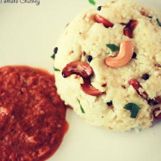 Pongal with Tomato Chutney