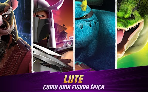 As Tartarugas Ninja: Lendas APK para Android imagem 2