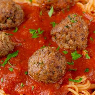 The BEST Italian Meatballs.