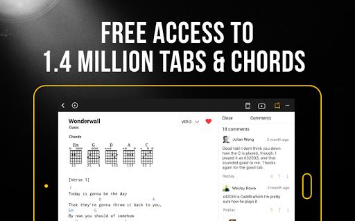 Ultimate Guitar: Tabs & Chords 4.8.9 screenshots 6