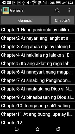 Tagalog English Bible