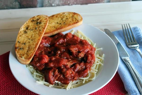 Italian Meat Sauce Recipe