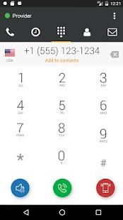 101VOICE Mobile SoftPhone - náhled
