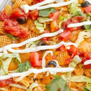 Cheesy Taco Cereal Nachos