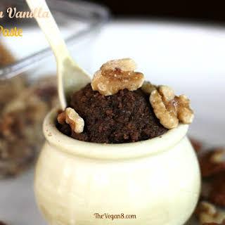 Cinnamon Vanilla Walnut Paste.