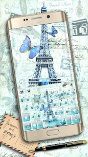 Paris Postcard Keyboard Theme 1.0 Mod Android Updated 1