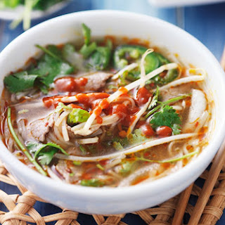 15-Minute Asian Beef Soup.