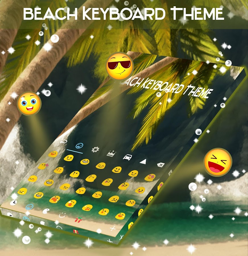 Beach Keyboard Theme- screenshot